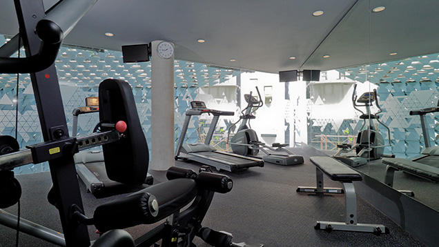 energ ize gym at IZE Seminyak
